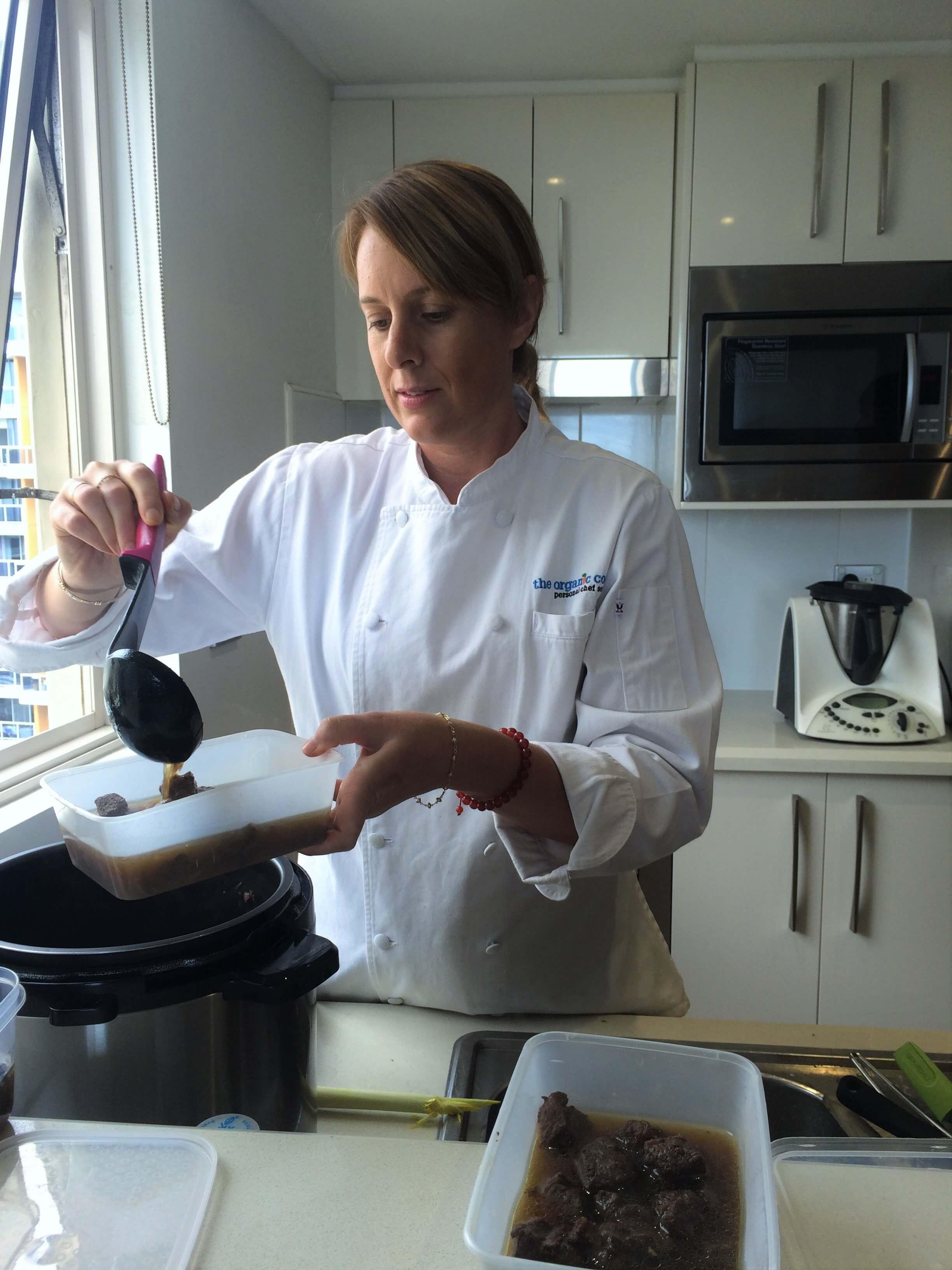 Batch cooking pressure cooker